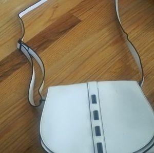 Crossbody white bag $10